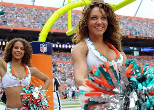 Dolphins Cheerleader