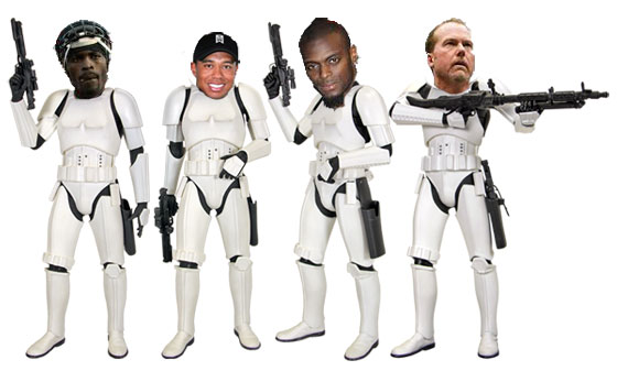 athletes stormtroopers