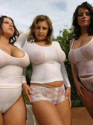 big boobs in wet t shirt