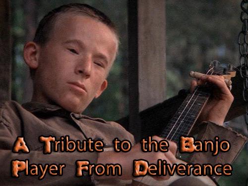 banjo player deliverance