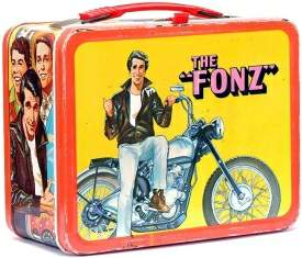 vintage fonz lunch box