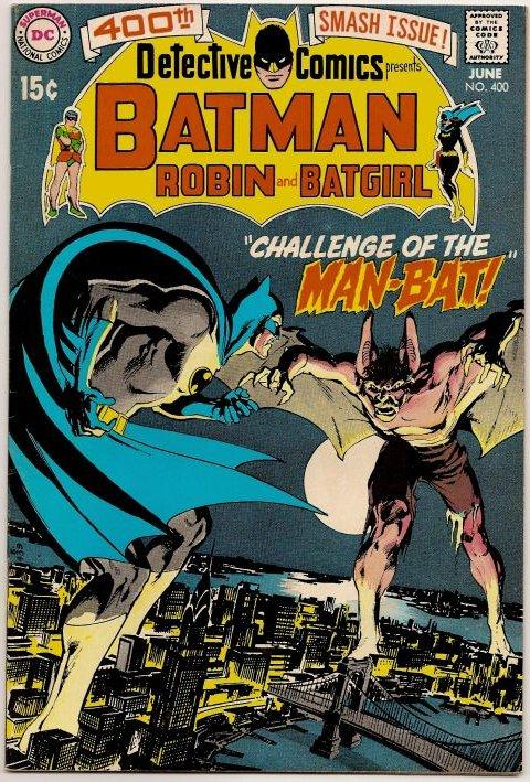 Detective Comics 400 Man Bat