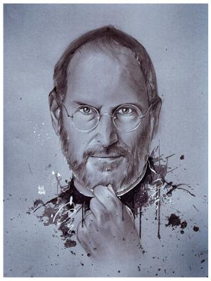 Steve Jobs Black and White
