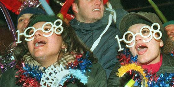 New Years Glasses 1998