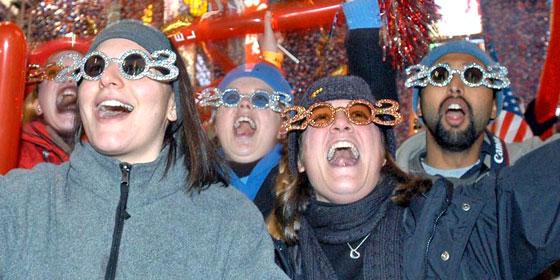 New Years Glasses 2003