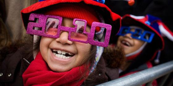 New Years Glasses 2010