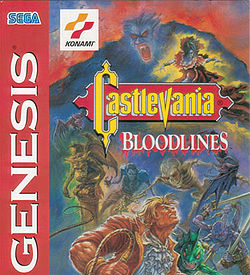 Castlevania Bloodlines cart