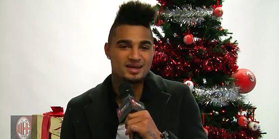 AC MILAN singing christmas