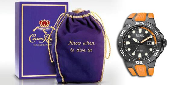 Crown Bag Watch