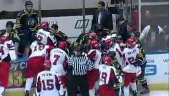 Hockey fight SPHL
