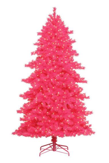 some like ithot pink christmas tree 2