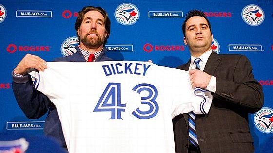 RA Dickey Toronto