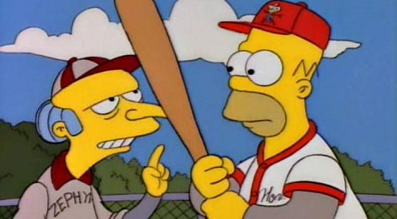 Mr Burns billy beane