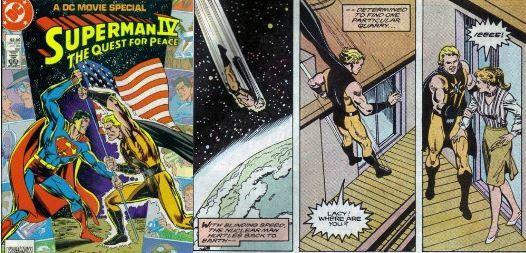 superman iv comic book