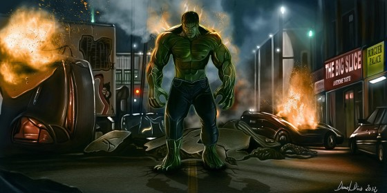hulk between flames by danimix1983 d4u4727