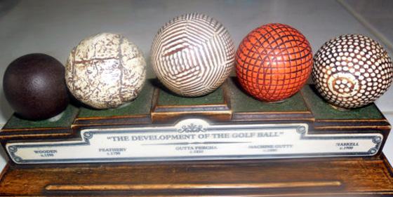 Golf Ball History