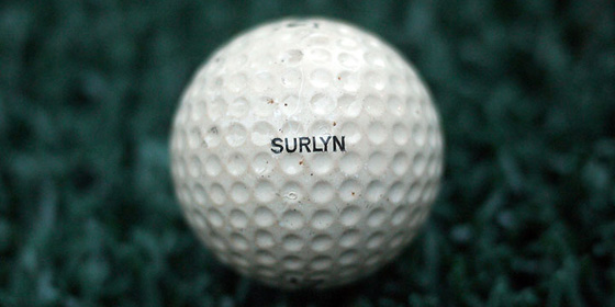 Surlyn Golf Ball