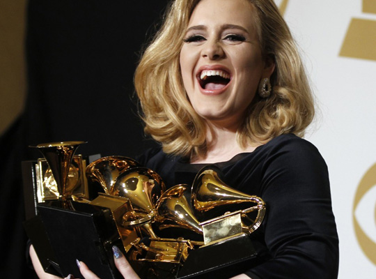 2012 grammy awards adele