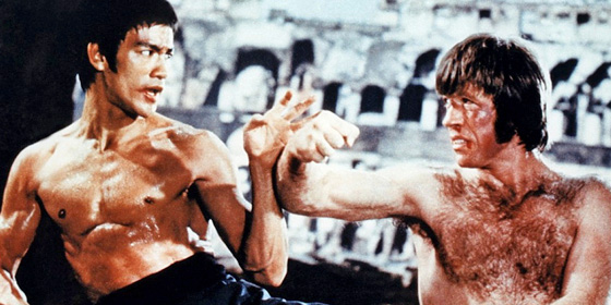 Bruce Lee Chuck Norris