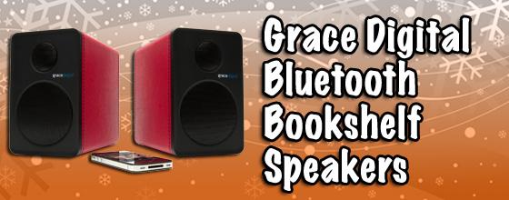 Grace Digital Bookshelf Speakers