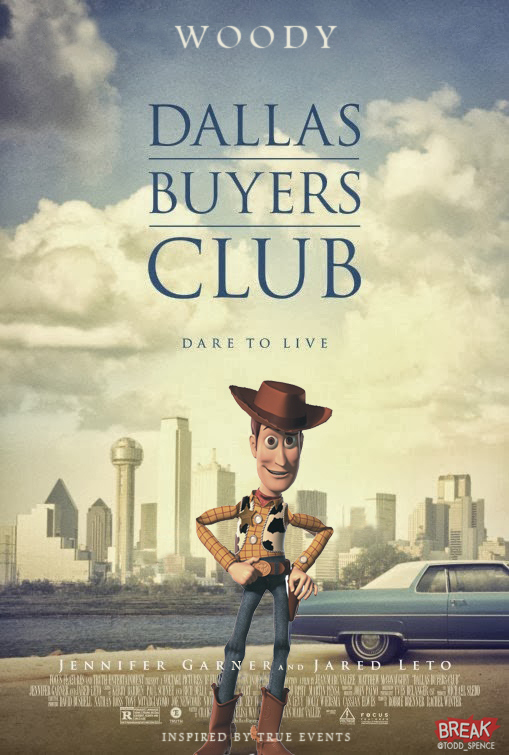 Dallas Buyers Club Pixar