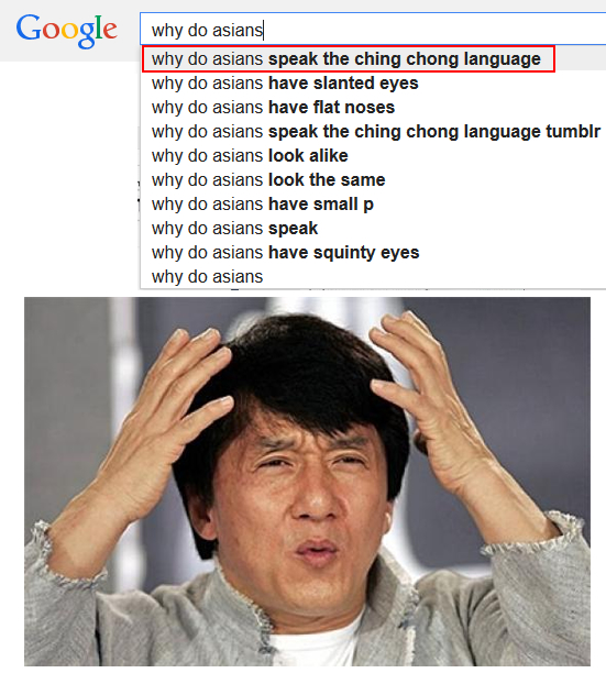 why do asians speak the ching chong language