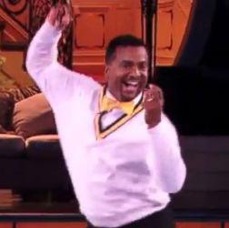 "Ribeiro Does ""The Carlton"" on DWTS"