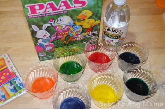 Easter PAAS Heinz Eggs 1