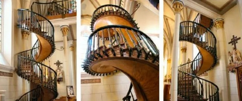 Fact Check Mysterious Staircase At Loretto Chapel   Stairs Of Loretto Chapel