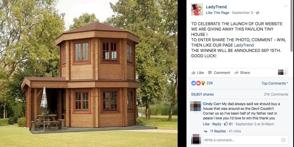 Fact Check Tiny House Giveaway