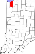Porter County, Indiana places and people