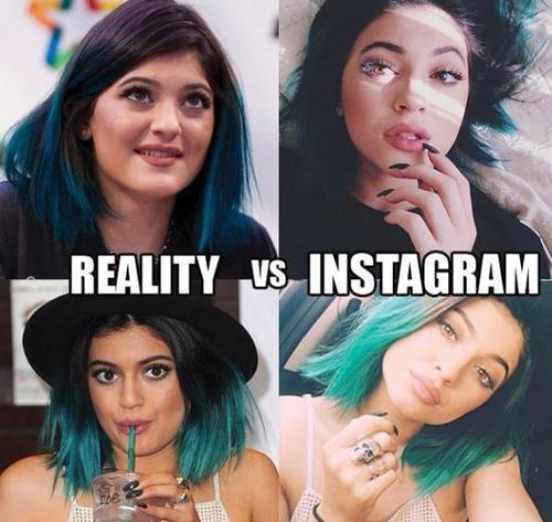 Instagram Vs Real Life Makeup