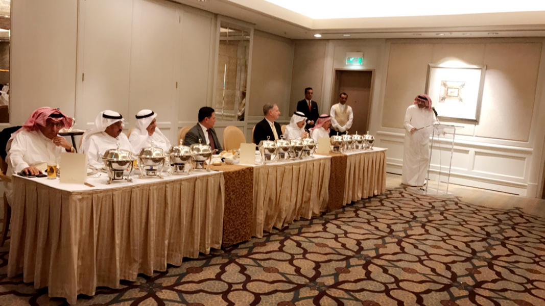Executive Luncheon with Commerce Under Secretary Hernandez in Riyadh