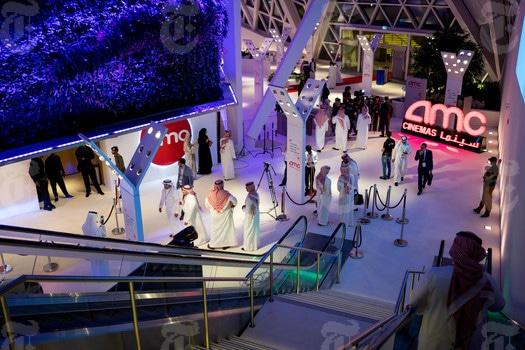 "Cinema Returns to Saudi Arabia, AMC Theatres Screens ""Black Panther"""