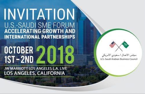 U.S.-Saudi SME Forum
