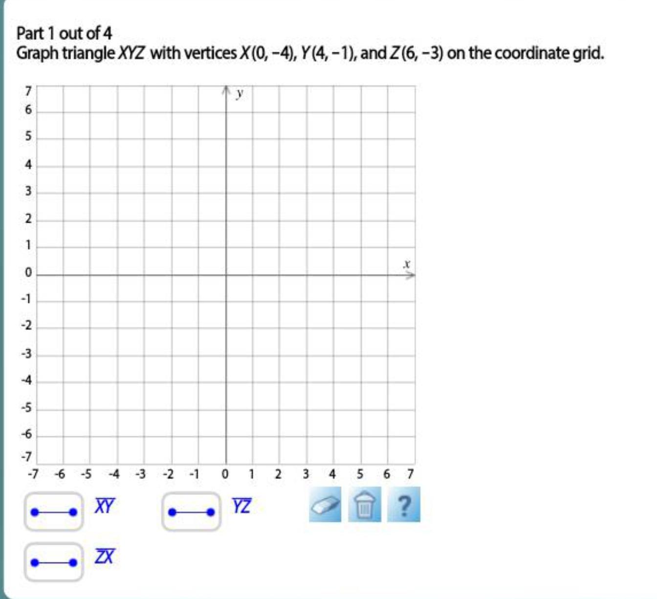Four Quadrants Worksheet With Grid