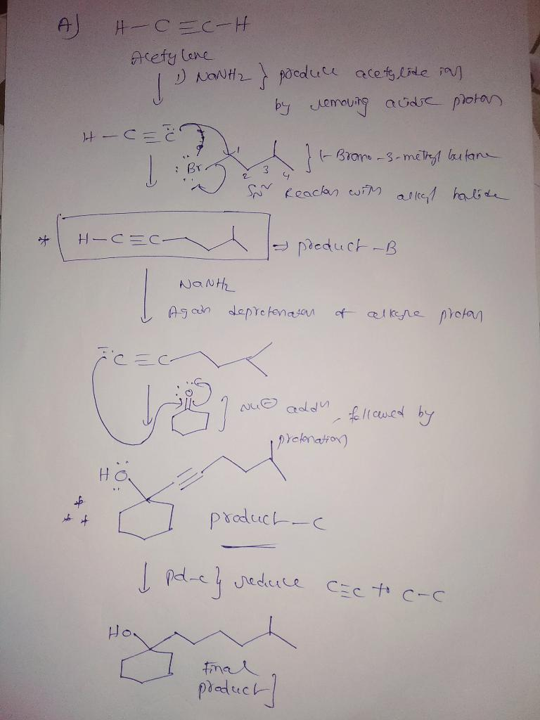 Draw The Major Product Of The Reaction Sequence Omit Byproducts : major, product, reaction, sequence, byproducts, Reaction, Place, Reagent, Reactant, Below., Reagents, Brainly.com