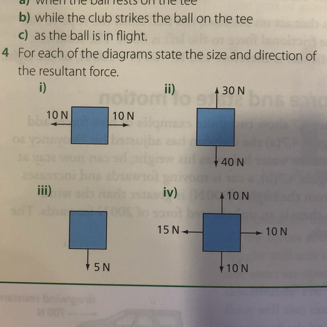 hight resolution of a golf ball is hit of it s tee 200m down the fairway draw diagrams to show all the forces acting on the ball a when the ball rests on the tree