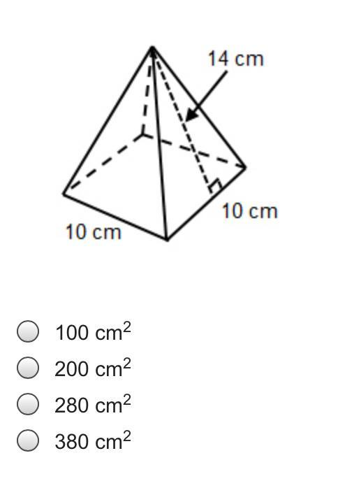 PLEASE HELP FAST What is the total surface area of the
