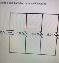 a circuit is built based on this circuit diagram what is the equivalent resistance of the circuit  [ 1125 x 1125 Pixel ]