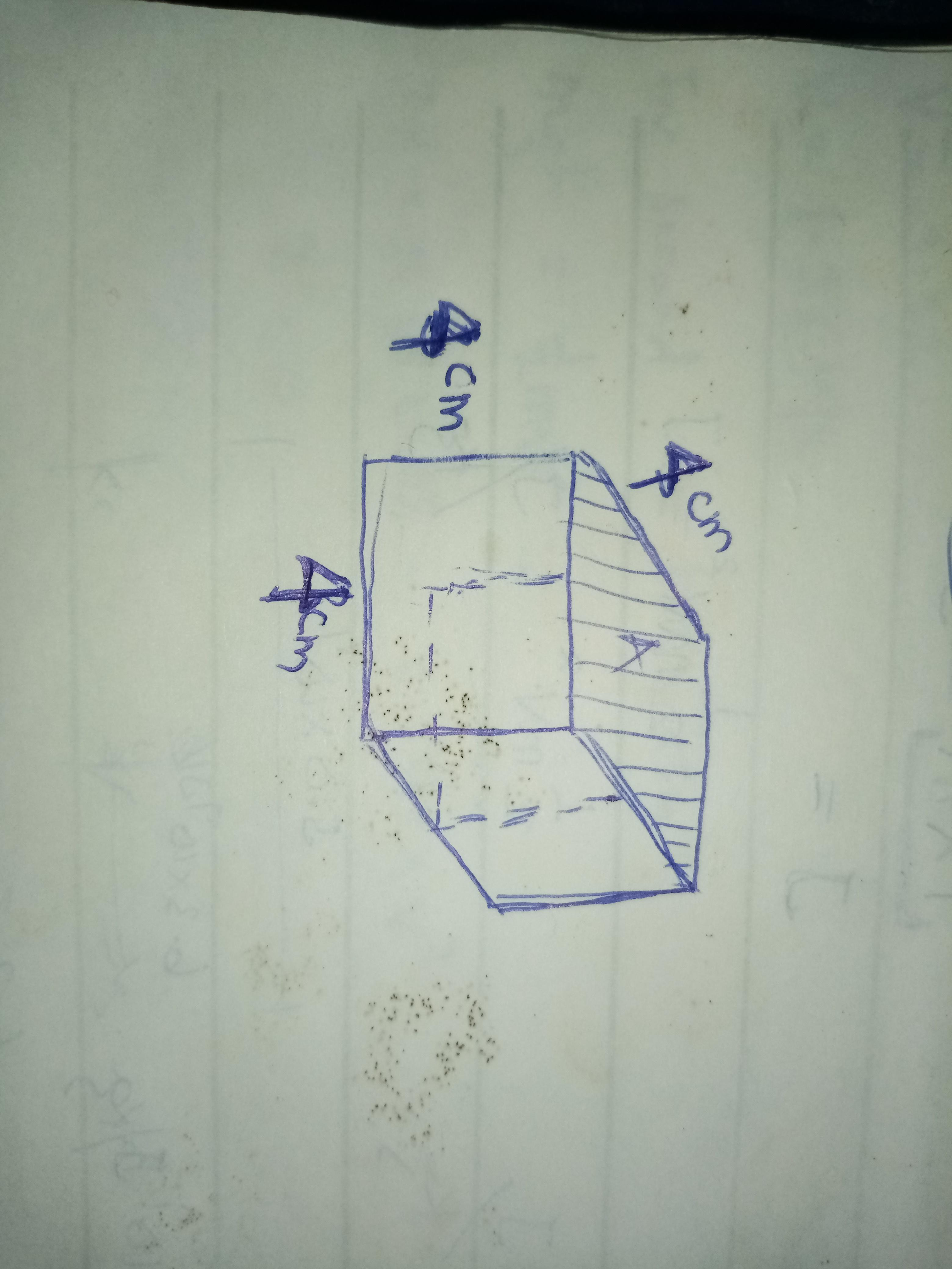 Which Correctly Describes A Cross Section Of The Cube