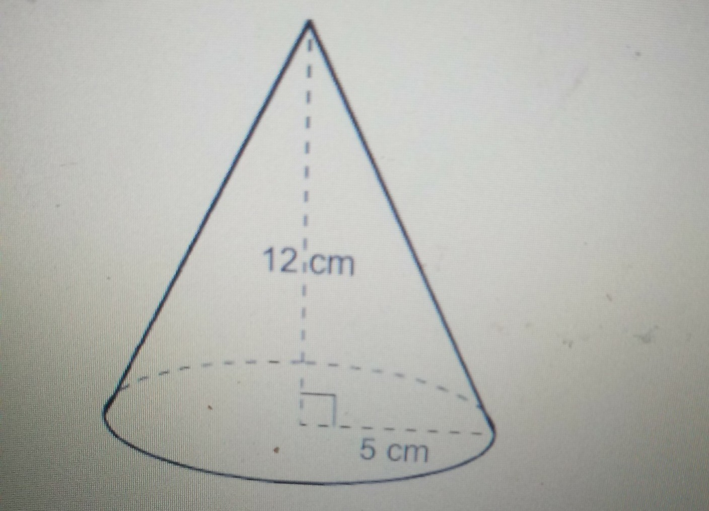 What Is The Total Surface Area Of The Cone