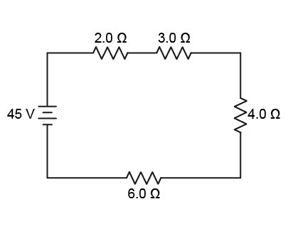 What is the equivalent resistance in this circuit? What is