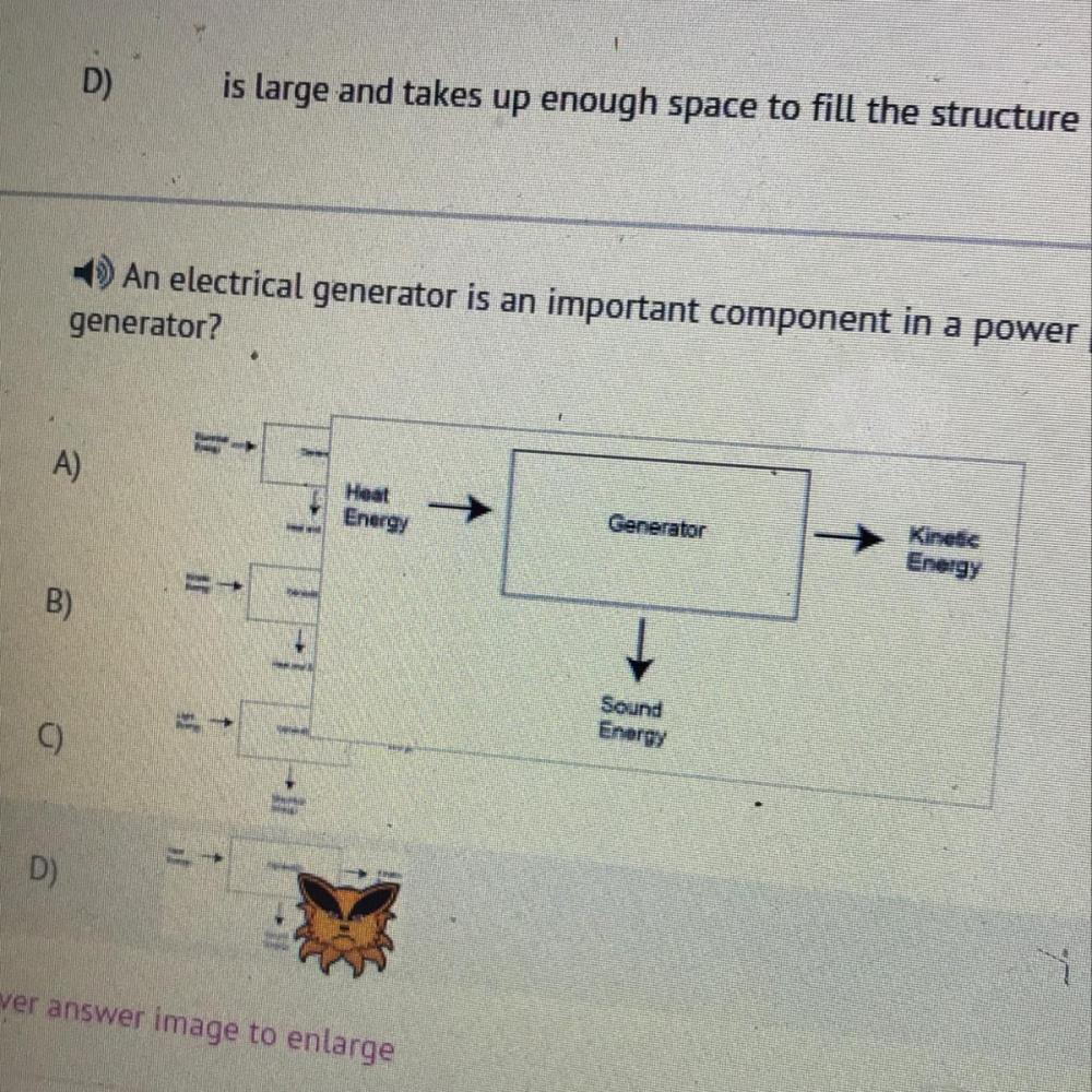 medium resolution of an electrical generator is an important component in a power plant which best shows the energy transfer diagram for a generator