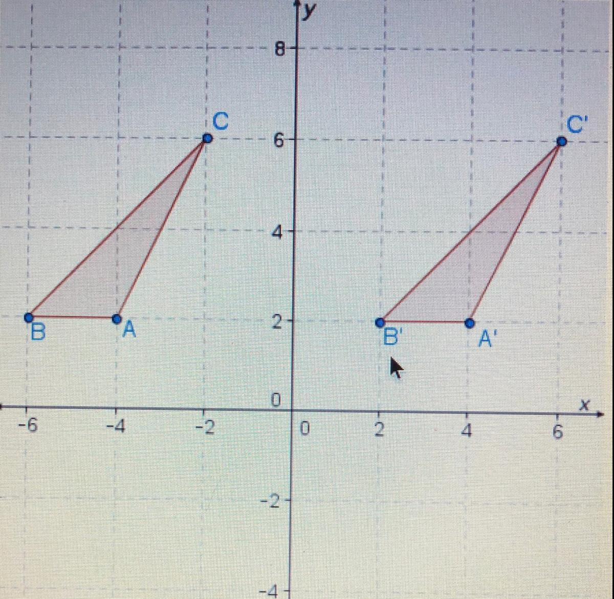 Which Sequence Of Rigid Transformations Will Map The
