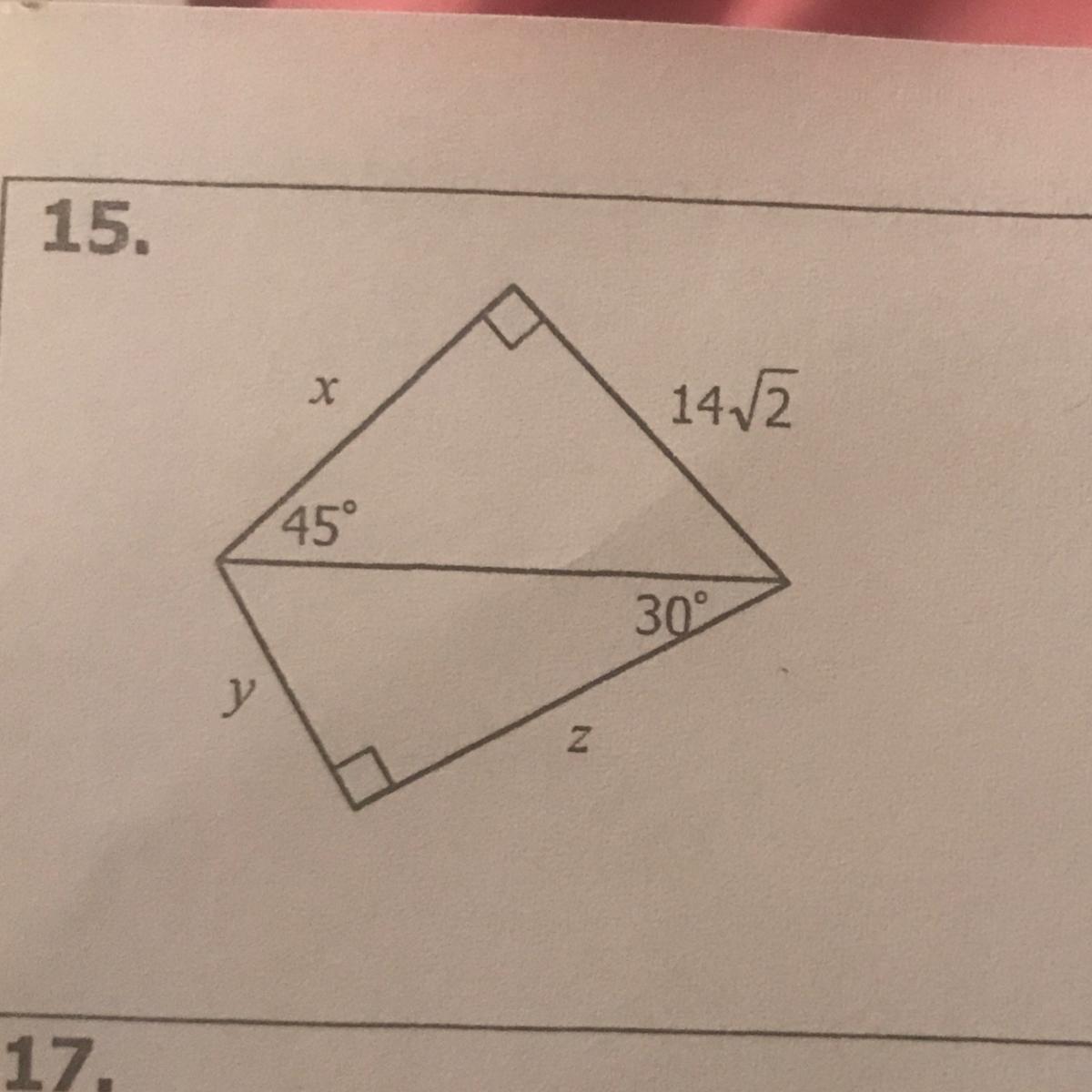 Unit 8 Right Triangles Amp Trigonometry Homework 2 Special