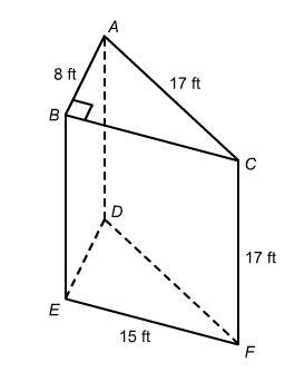 What is the area of the two-dimensional cross section that
