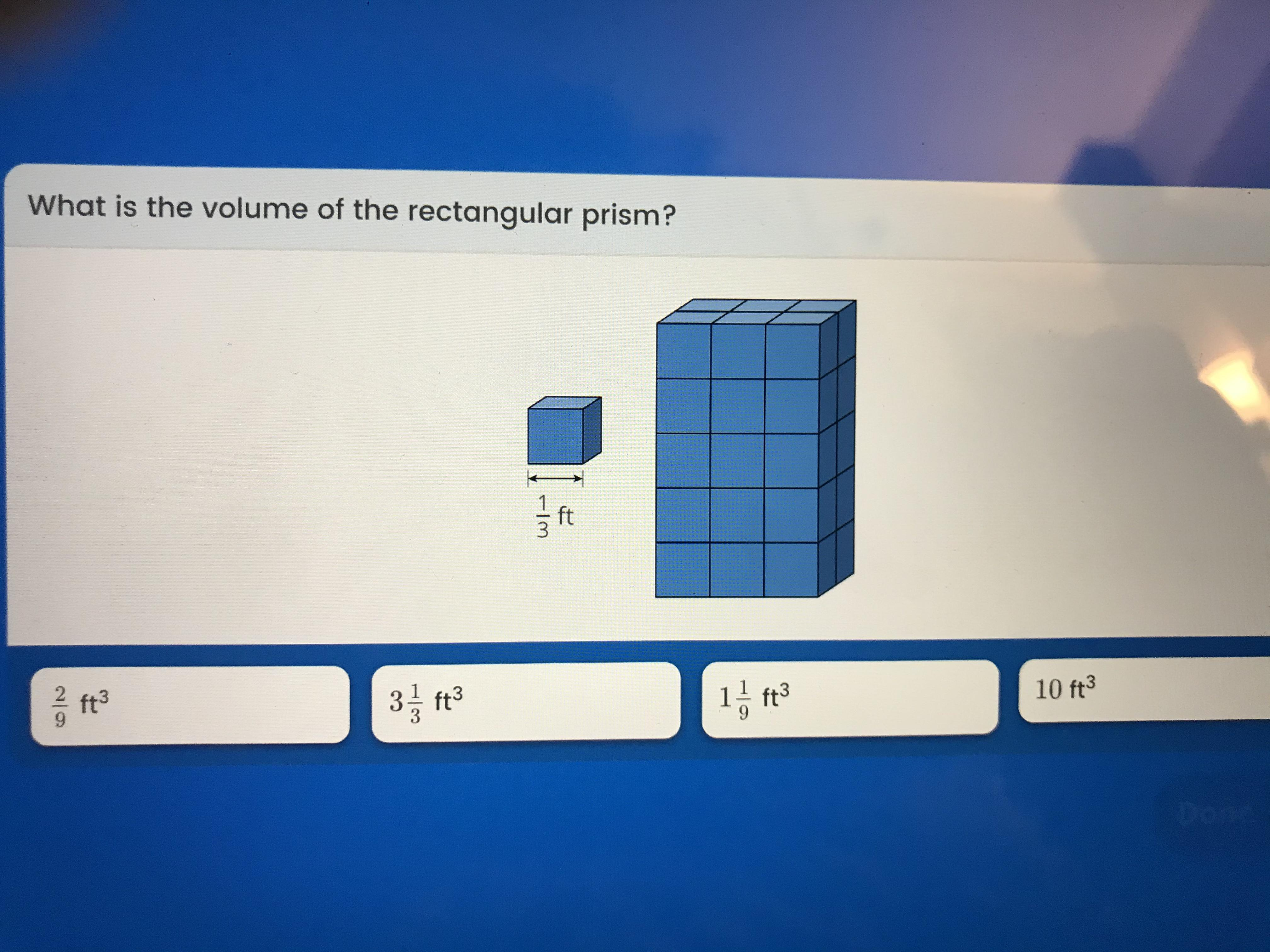 What Is The Volume Of The Rectangular Prism