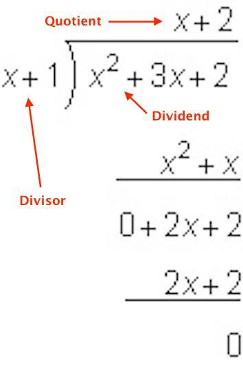 What is the quotient of the following division problem? A
