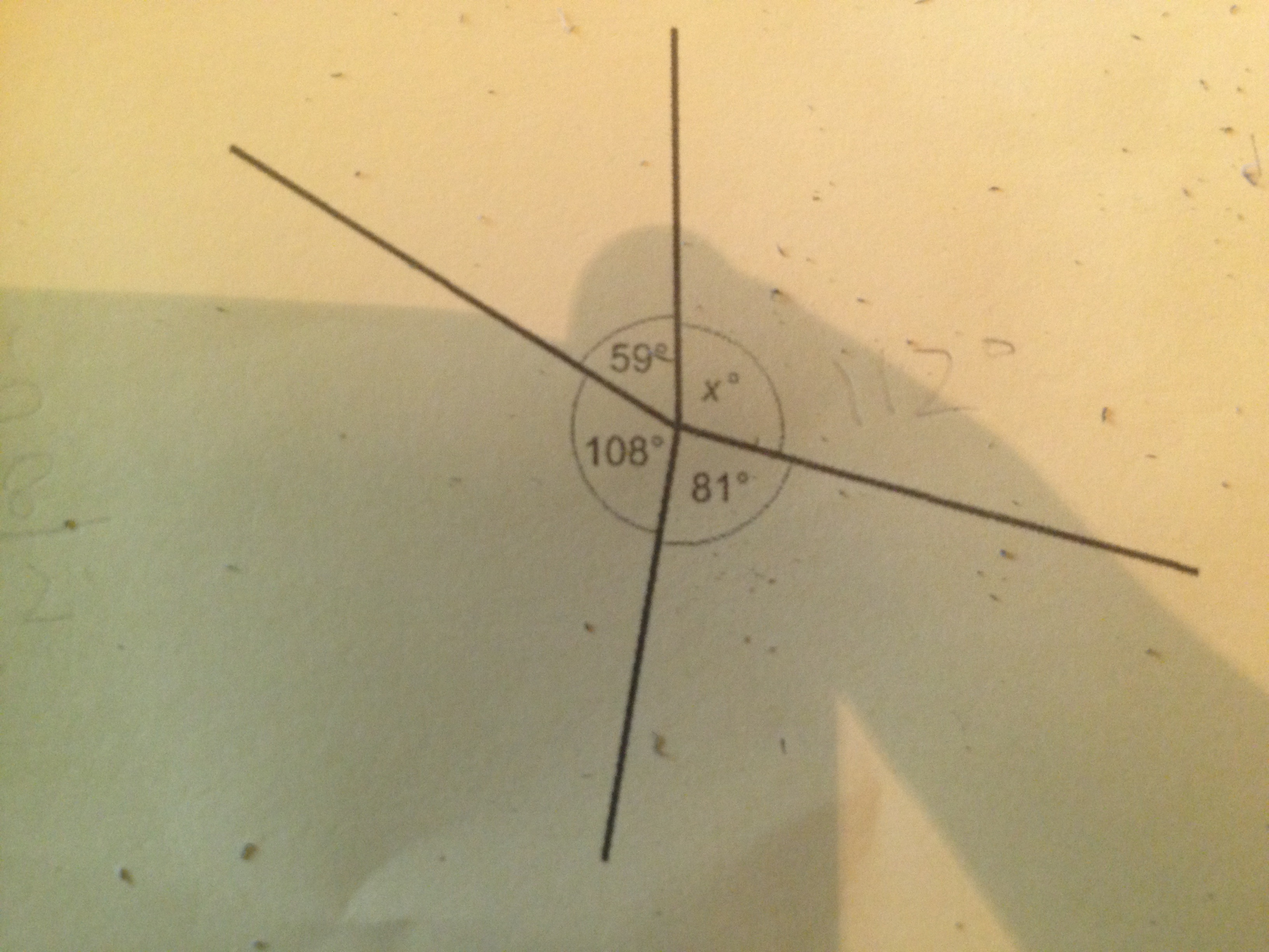 All Angles In The Diagram Are Measured To The Nearest